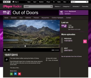 Ness of Brodgar on BBC Radio Scotland