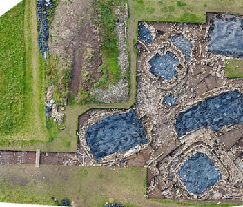 Diary Extra – A drone's eye view of Trench P