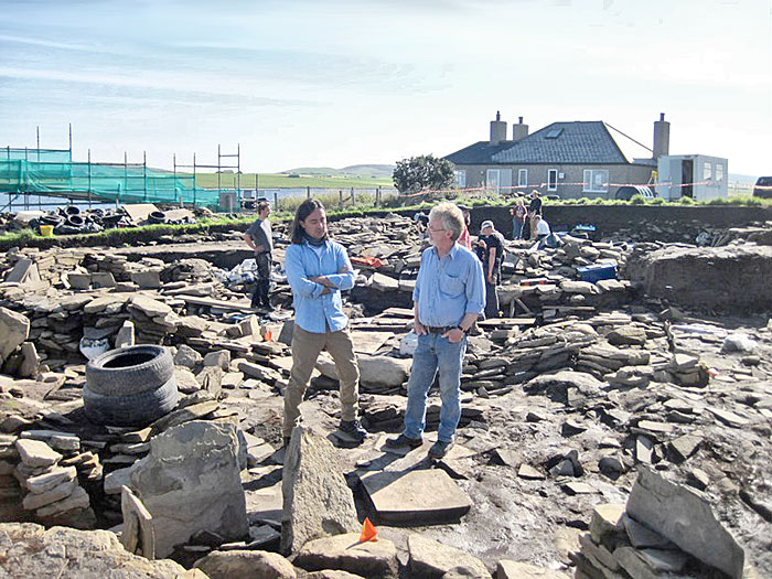Neil Oliver chats with Nick about developments since his last visit.