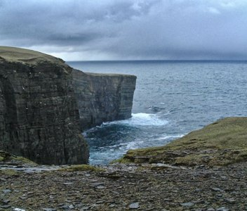 Britain's Ancient Capital – Vertigo at the North Galton sea-stack