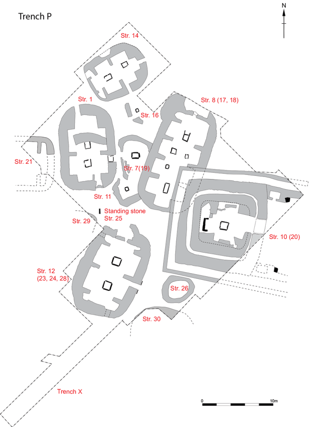 Trench P Plans