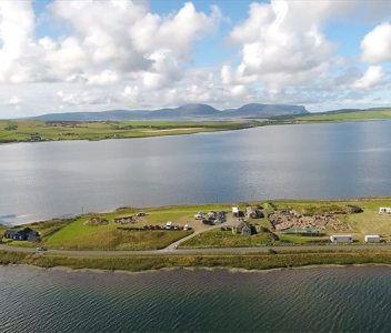 Video – The Ness from above the Harray Loch