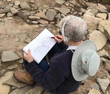 Ness of Brodgar 2018 sketchbook online