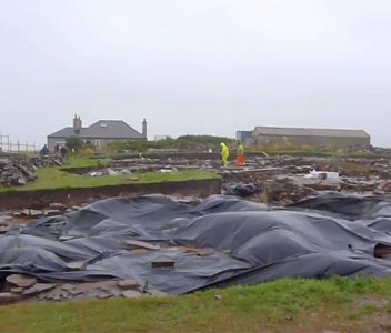 The Summer Wind – Ness excavation 2013