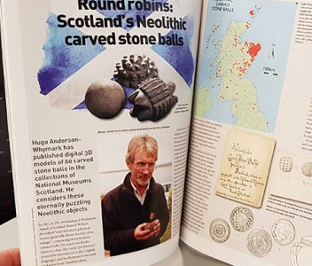 New article ponders the mystery of carved stone balls
