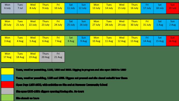 Ness of Brodgar Calendar 2020