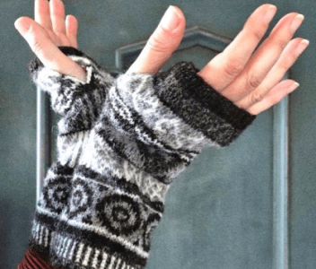 Complete the Ness look with new Brodgar Mitts