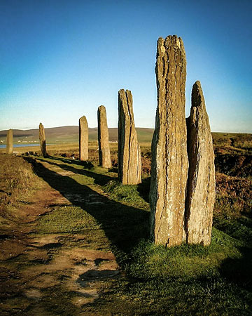 Section of the Ring of Brodgar.