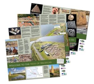 Ness of Brodgar interpretation panels