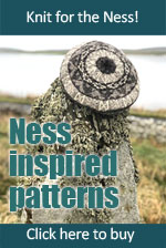 Ness-inspired Knitting Patterns