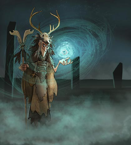 Megalithic mage. (Alex Leonard © ALT_Animation)