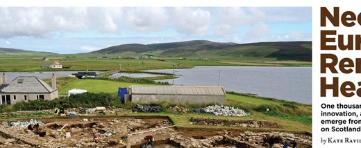 Ness of Brodgar Article in Archaeology Magazine