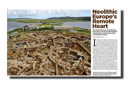 Archaeology Magazine Article