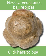 Carved Stone Ball replicas for sale online