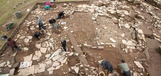 Excavation under way on Structure Fourteen. (ORCA)