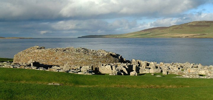 The Broch of Gurness. (Sigurd Towrie)