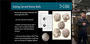 Carved Stone Ball lecture - featured image