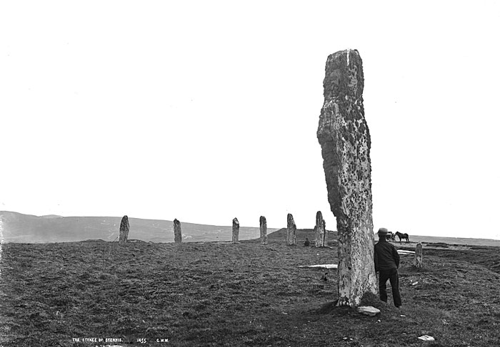 The Ring of Brodgar, looking south-east.