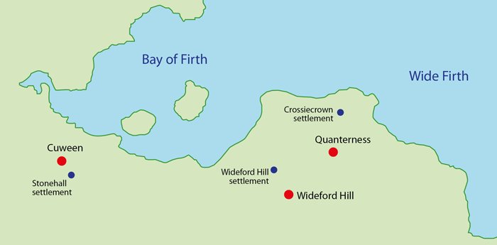 Bay of Firth map