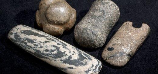 Polished stone tools (Hugo Anderson-Whymark)