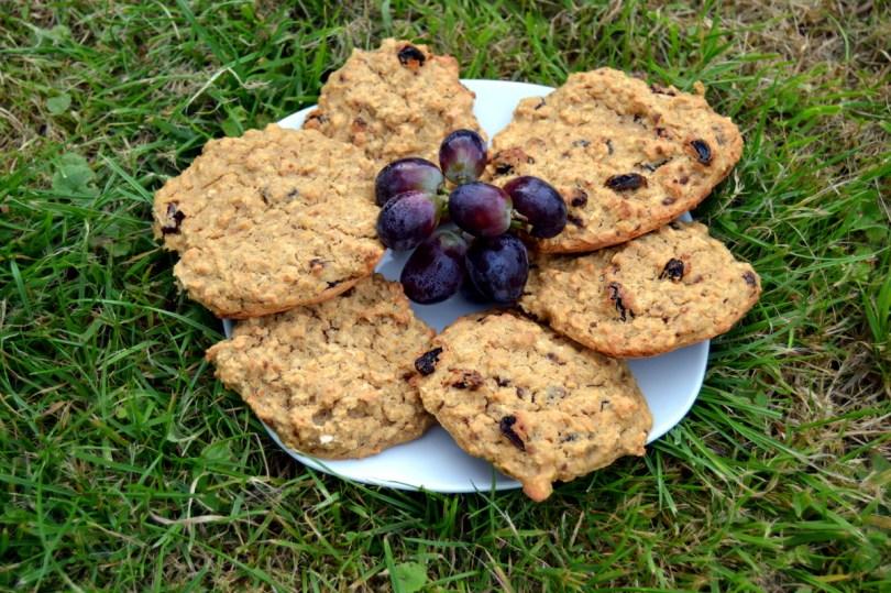 Dark Chocolate Oat Biscuits