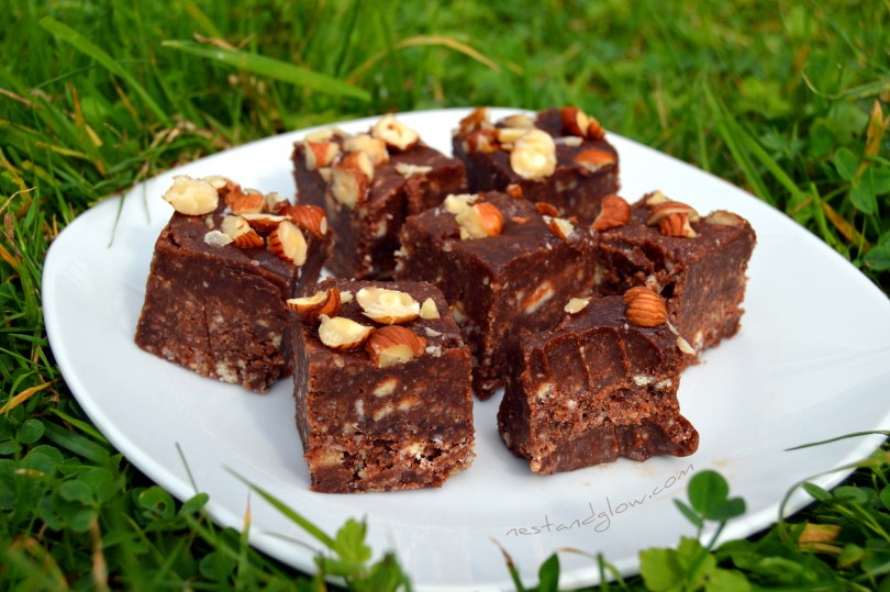 Nutella Chocolate Hazelnut Fudge Vegan Recipe