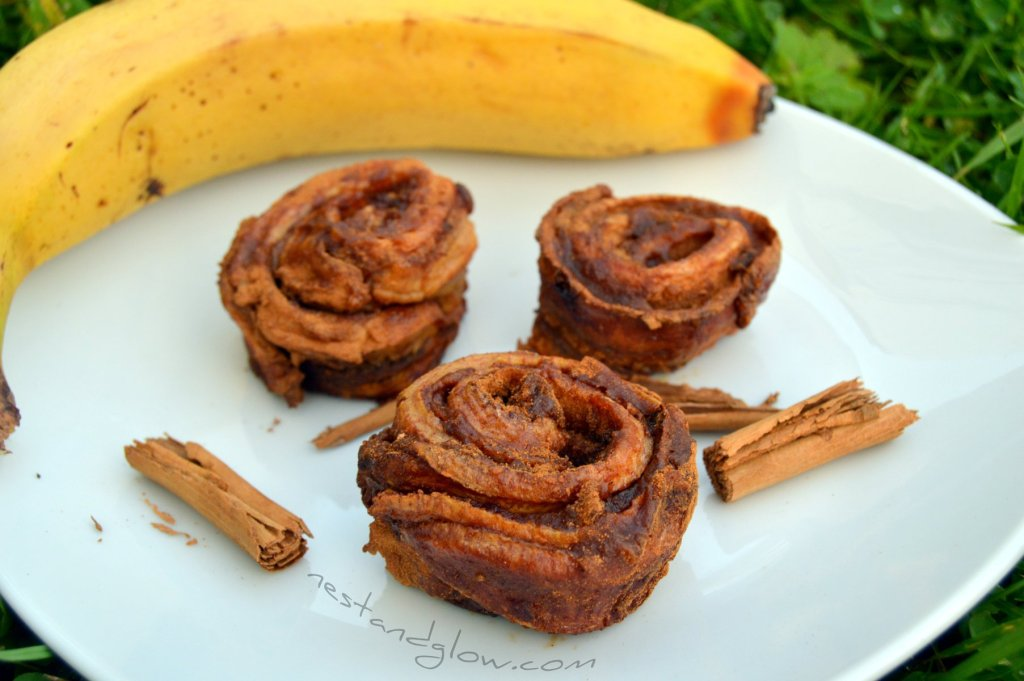 Banana Cinnamon Roll Buns Recipe