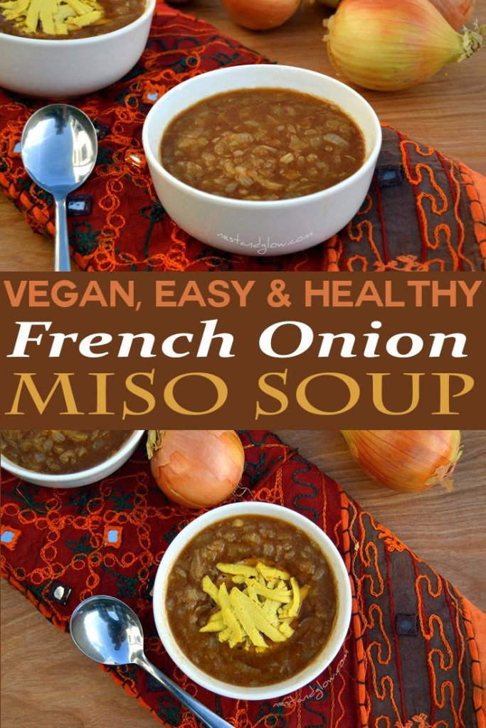 vegan french onion soup thats healthy and easy