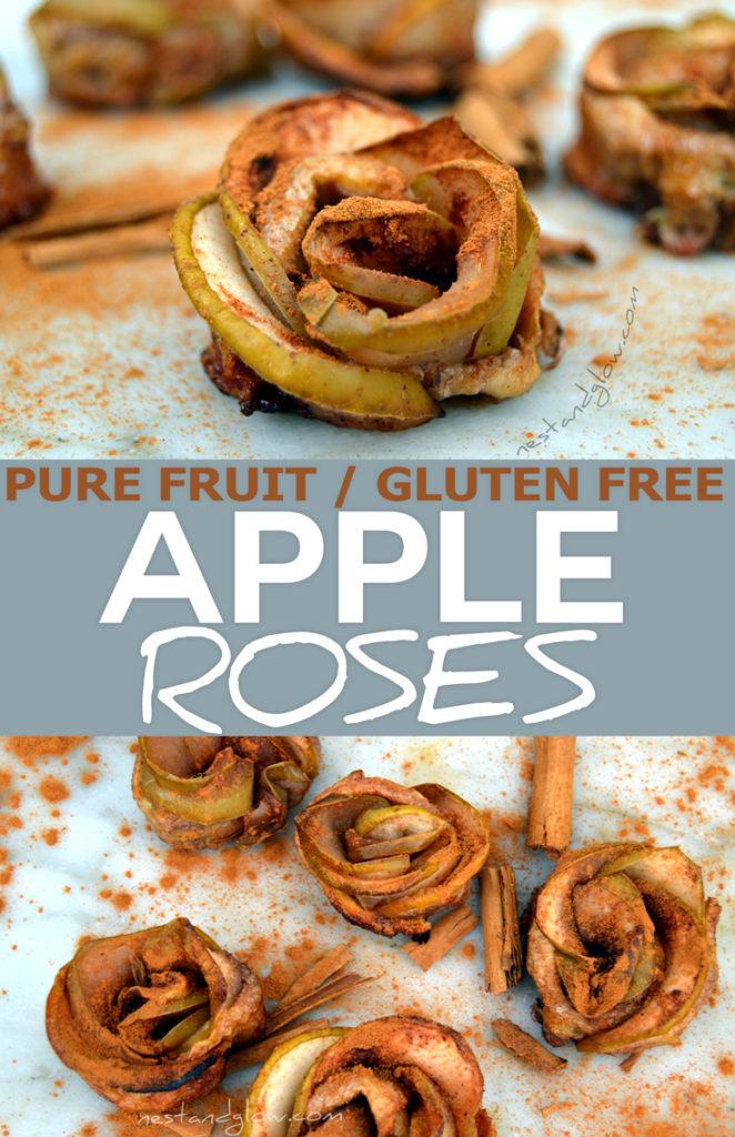 pure fruit apple roses recipe