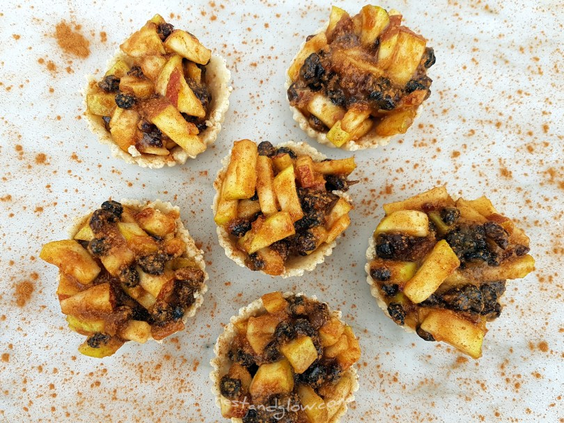 Easy healthy Raw Mince pies