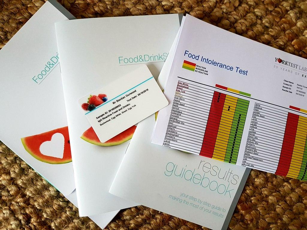 York Food Intolerance Test