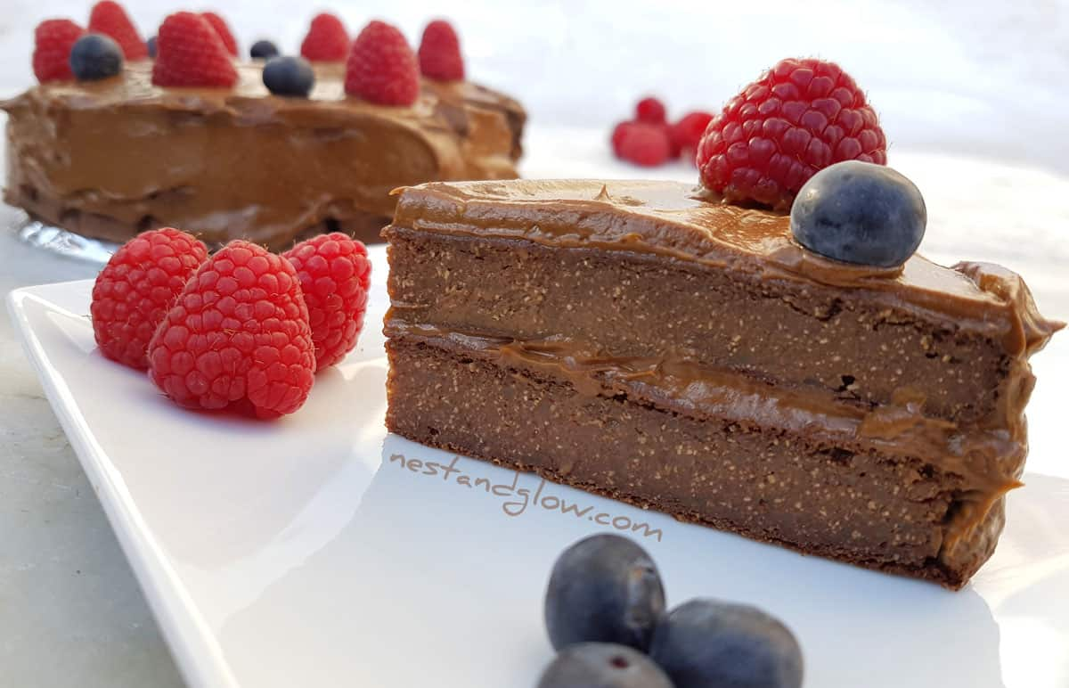 Easy Chocolate Mousse Cake Filling Recipe