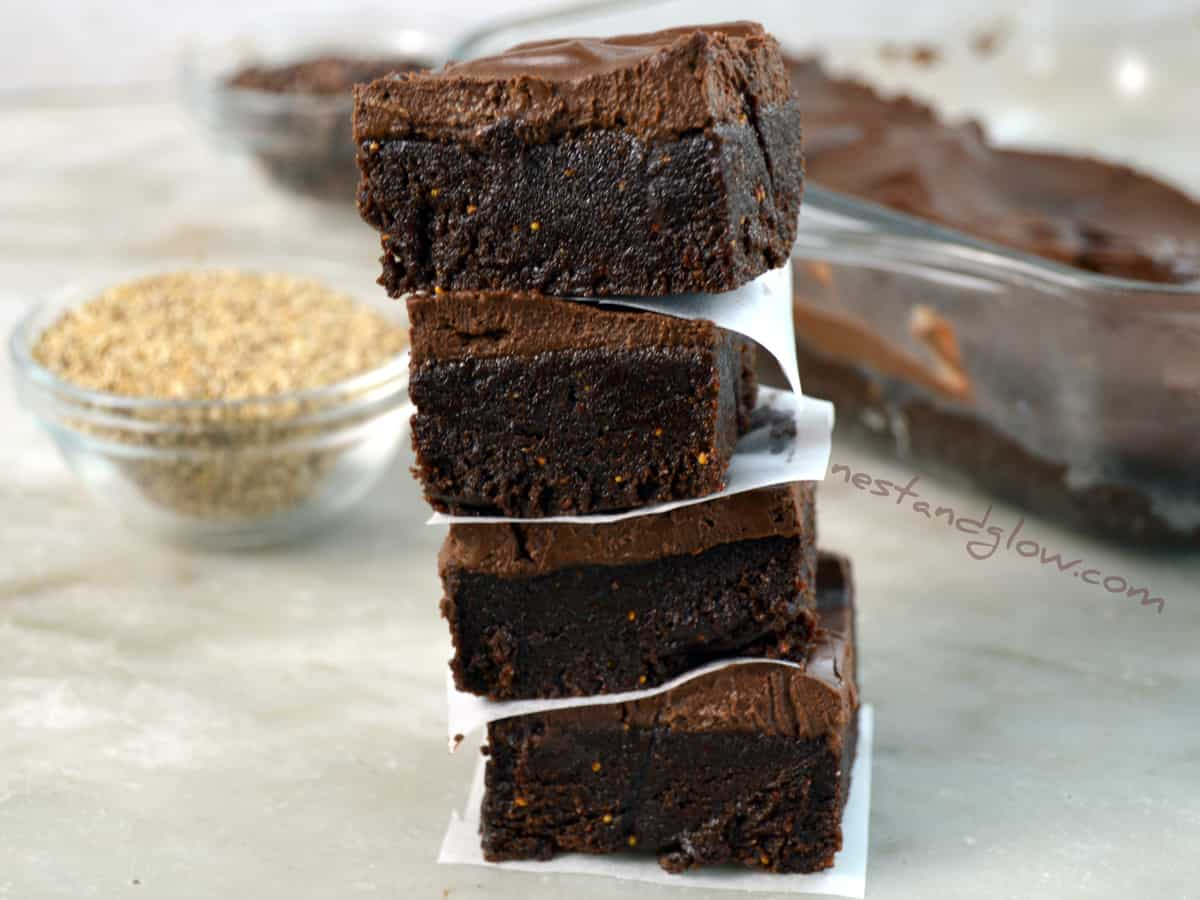 Calcium Chocolate Vegan Fudge