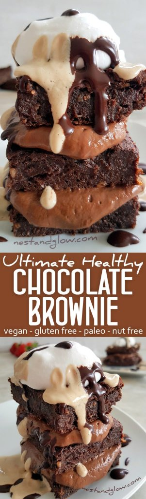 Ultimate Healthy Chocolate Brownie Easy Recipe