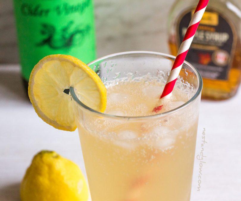 Apple Cider Vinegar Maple Lemonade