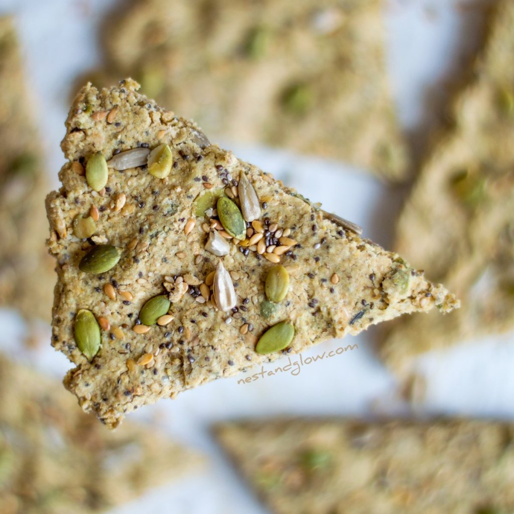Five Seed Oatcakes Recipe