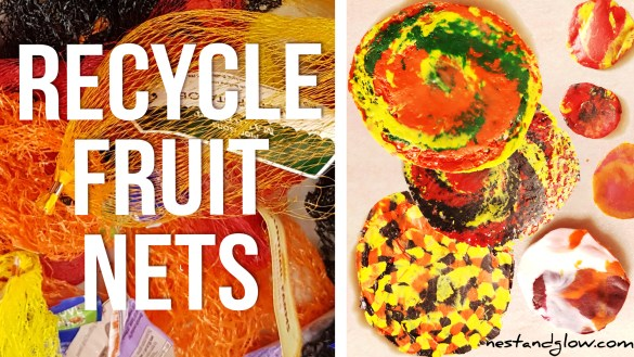Recycle Fruit & Vegetable Plastic Nets
