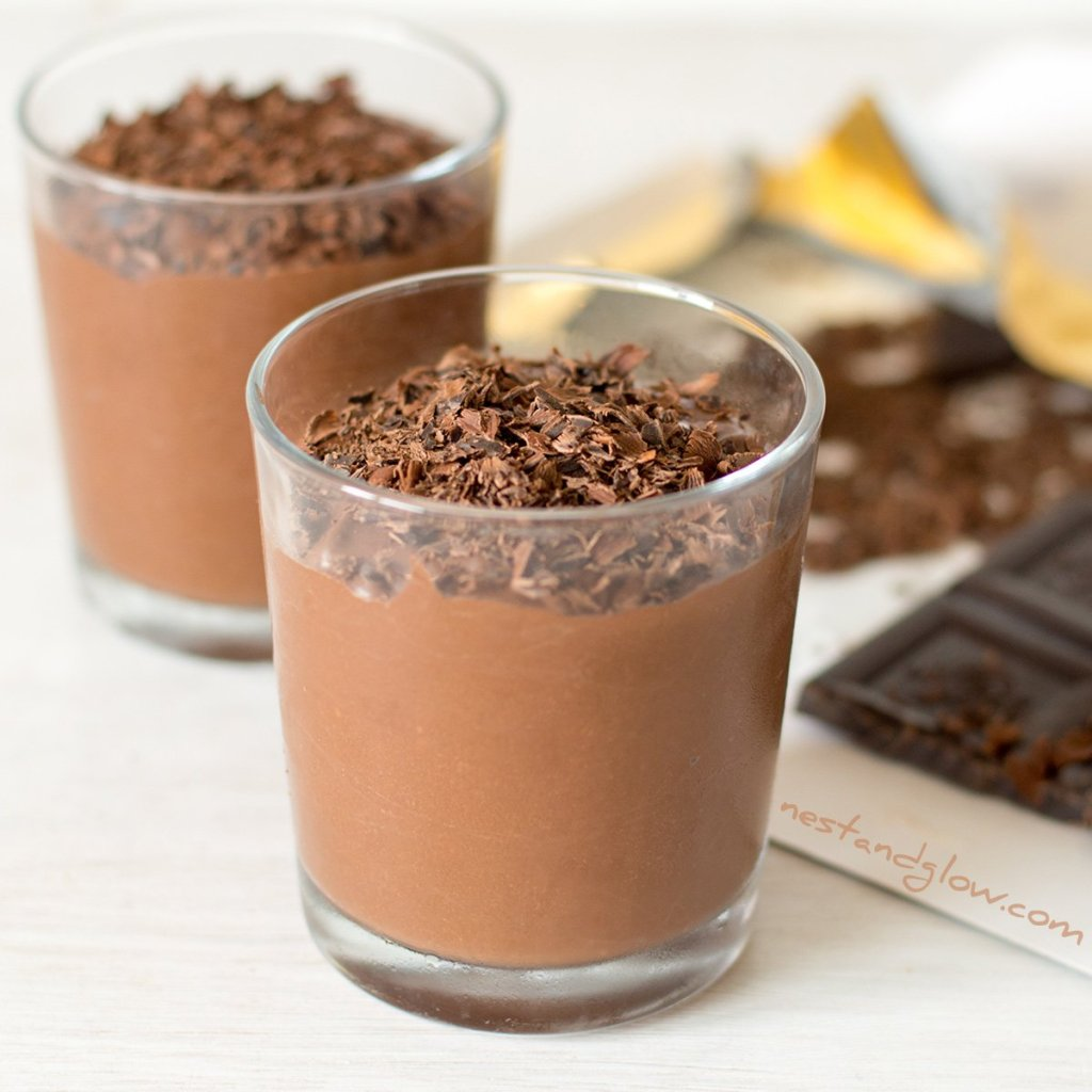 Chocolate Protein Mousse Recipe - Vegan