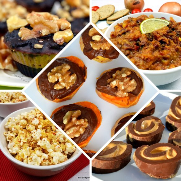 healthy finger buffet food recipes