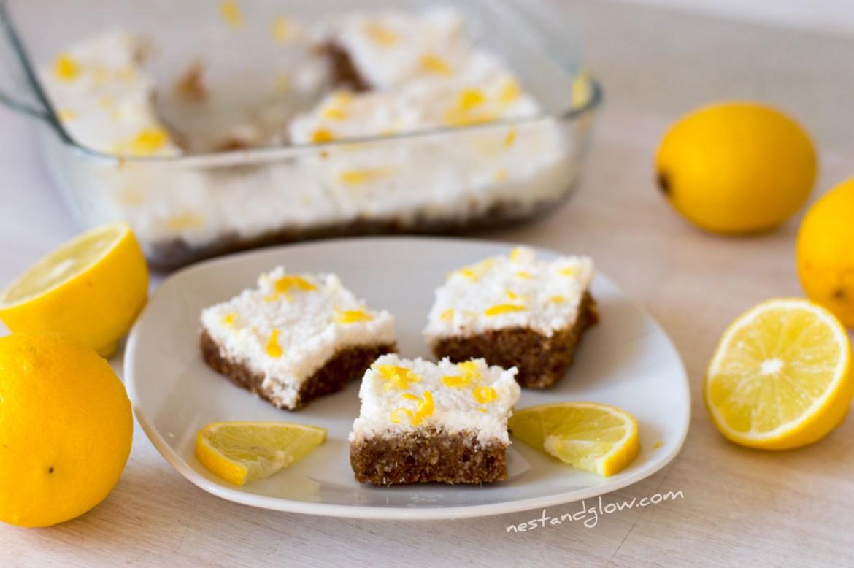 lemon drizzle seed cake recipe
