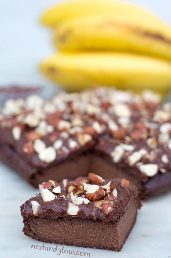 Quinoa Chocolate Banana Bread Sugar-free