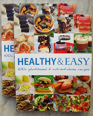 Healthy and Easy Paperback Book