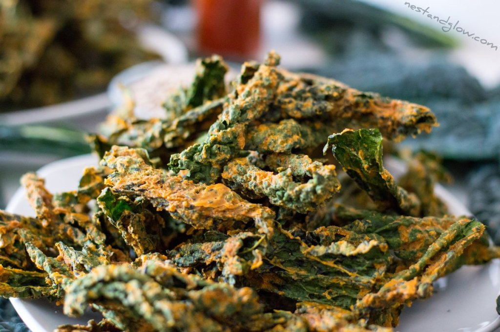 Smoked paprika kale crisps recipe