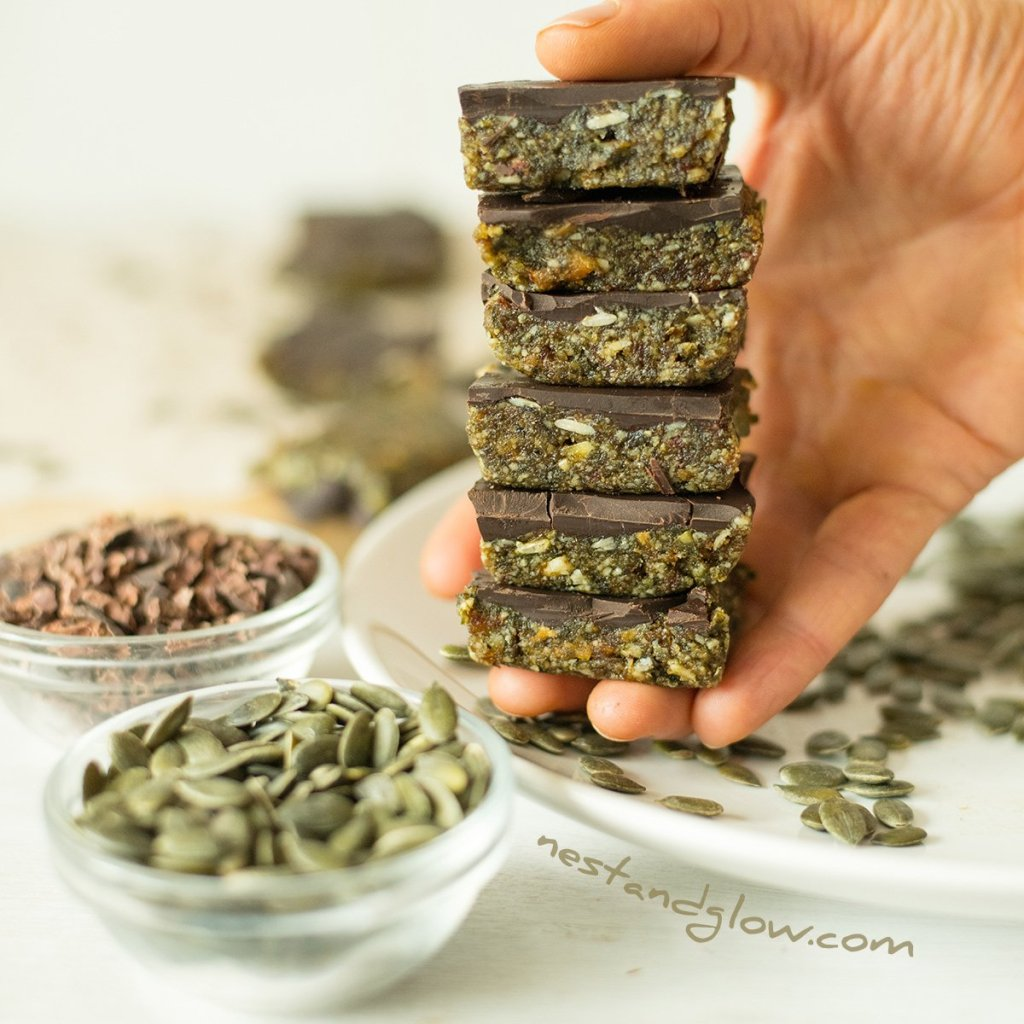 Pumpkin Seed Dark Chocolate Candy
