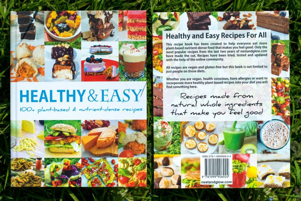 healthy and easy recipe book nest and glow