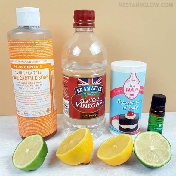 natural cleaning homemade products