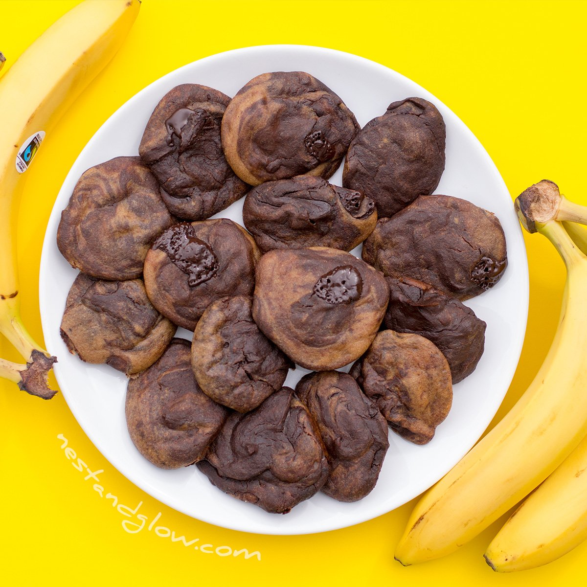 Quinoa Chocolate Banana Cookies