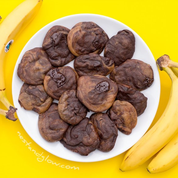 quinoa chocolate chip banana cookies