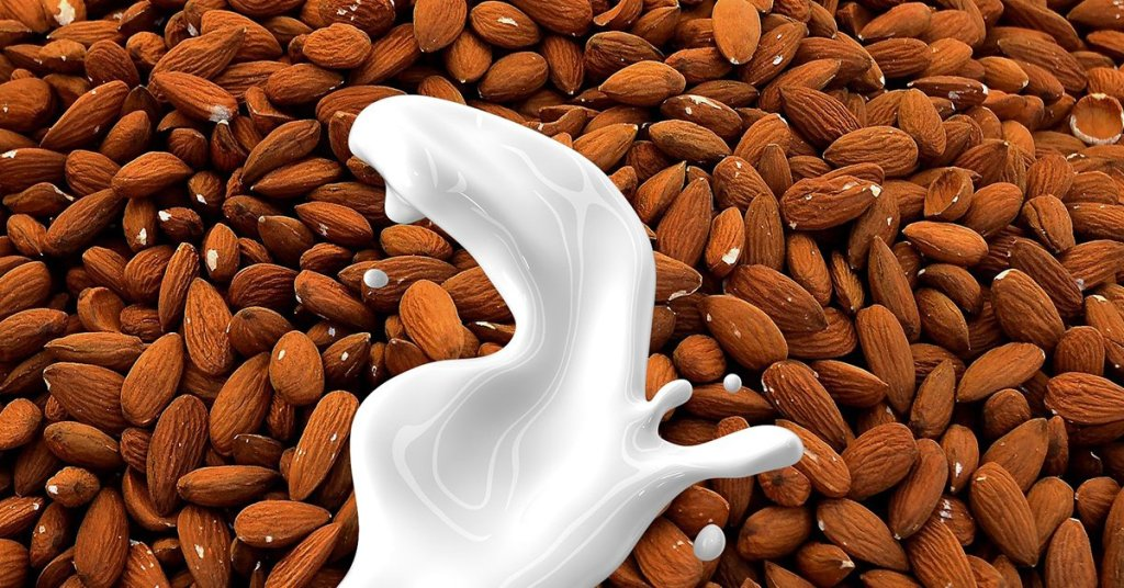 almond milk sustainability
