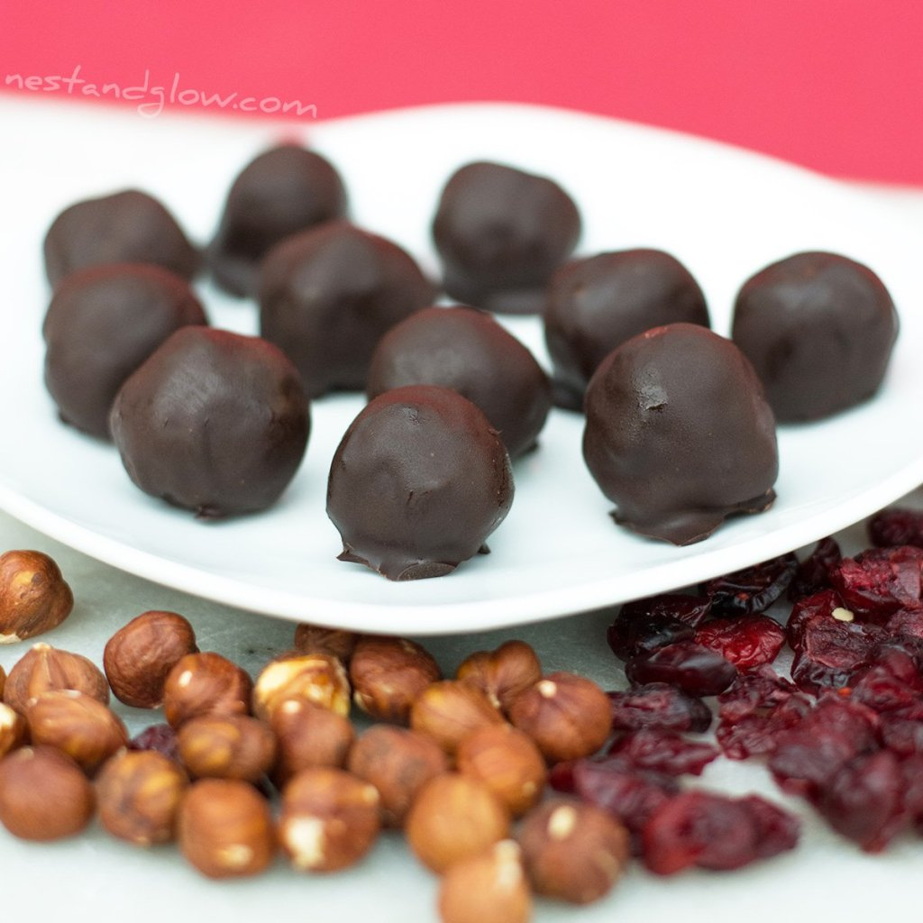 easy healthy cherry balls